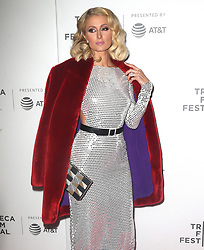 Paris Hilton at 'The American Meme' premiere in New York. 27 Apr 2018 Pictured: Paris Hilton. Photo credit: MEGA TheMegaAgency.com +1 888 505 6342