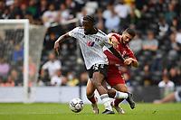 Football - 2021 / 2022  Sky Best EFL  Championship - Fulham vs Middlesbrough - Craven Cottage - Sunday 8th August 2021<br /> <br /> Fulham's Josh Onomah holds off the challenge from Middlesbrough's Sam Morsy.<br /> <br /> COLORSPORT/Ashley Western