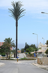 Entrance of the Luz village in Lagos, Algarve, Portugal, on June 7, 2020, where the three-year-old British girl Madeleine McCann was on holidays when she disappeared in 2007. Portuguese justice said to be questioning witnesses as part of the investigation into the 2007 disappearance of the British girl Madeleine McCann, whose case re-emerged on May 3, 2020 with the identification of a new German suspect. Photo by ABACAPRESS.COM