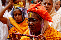 India - Widows Festival At A Dharmasala - 09 Nov 2016