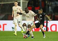 Football - 2018 / 2019 UEFA Champions League - Round of Sixteen, Second Leg: Paris Saint-Germain (2) vs. Manchester United (0)<br /> <br /> Romelu Lukakau of Manchester United at Parc des Princes, Paris.<br /> <br /> COLORSPORT/IAN MACNICOL