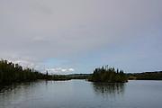 Tobin Harbor, just north of the Rock Harbor Visitor Center, Isle Royale National Park, Lake Superior, Michigan, USA