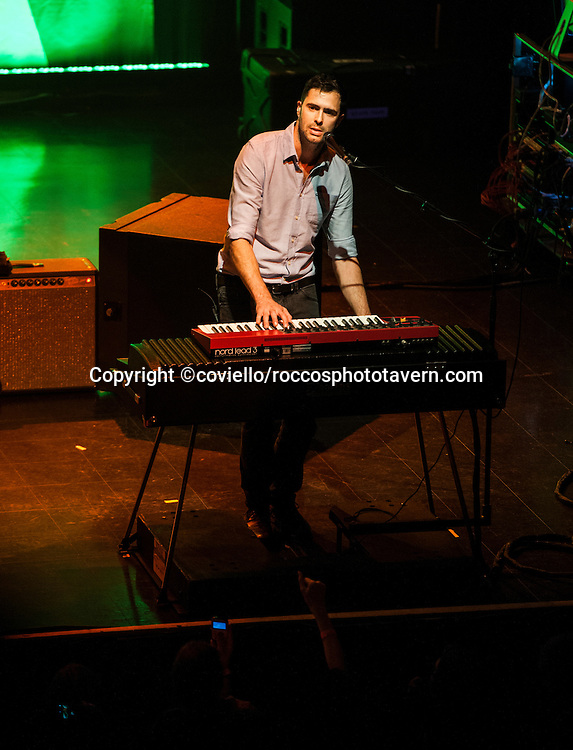Tim Rice-Oxley of Keane plays The Boston House of Blues in their tour opening performance.