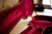 Belo Horizonte_MG, Brasil...Detalhe da Capa de Violao do cantor Danilo Franca...The hardshell guitar detail of Danilo Franca singer...Foto: LEO DRUMOND / NITRO