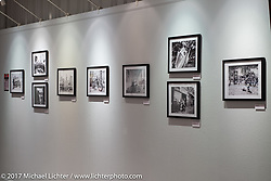 The photography of Narihiko Heeko Kumagae in the Old Iron - Young Blood exhibition in the Motorcycles as Art gallery at the Buffalo Chip during the annual Sturgis Black Hills Motorcycle Rally. Sturgis, SD. USA. Tuesday August 8, 2017. Photography ©2017 Michael Lichter.