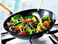 Stirfry cooking ,
