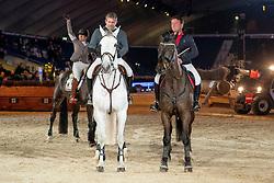 Team Tabaknatie, Baetens Sophie, Heyndrickx Kurt, Spits Patrick, BEL<br /> Vlaanderens Kerstjumping - Memorial Eric Wauters - Mechelen 2018<br /> © Hippo Foto - Dirk Caremans<br /> 27/12/2018