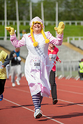Sheffield Half Marathon Fun Run Sunday Morning...12 May 2013.Image © Paul David Drabble