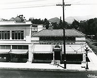 1928 Innes Shoe Store on NW corner of Hollywood Blvd. & Wilcox Ave.