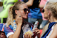Iceland fan during the 2018 FIFA World Cup Russia, Group D football match between Argentina and Iceland on June 16, 2018 at Spartak Stadium in Moscow, Russia - Photo Thiago Bernardes / FramePhoto / ProSportsImages / DPPI