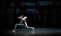 "Balletboyz<br /> ""The Talent""<br /> artistic directors Michael Nunn & William Trevitt <br /> The Arts Depot <br /> Press photocall<br /> 27th January 2011<br /> Balletboyz 10th Anniversary Tour<br /> <br /> ""Void""<br /> <br /> Leon Poulton<br /> <br /> <br /> <br /> Photograph by Elliott Franks"