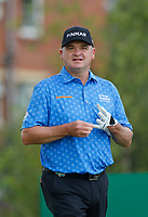 Golf - 2019 Senior Open Championship at Royal Lytham & St Annes - First Round <br /> <br /> Paul Lawrie (SCO) waits to drive off the 2nd tee.<br /> <br /> COLORSPORT/ALAN MARTIN