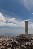 Trig point on second summit of Mulhacen