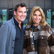 NLD/Amsterdam/20190228 - Opening Holland Zingt Hazes 2019 Backstage Cafe, Jeroen van der Boom en partner Dany de Wit
