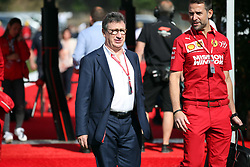 May 11, 2019 - Montmelò.Montmel&#Xf2, Catalunya, Spain - xa9; Photo4 / LaPresse.11/05/2019 Montmelo, Spain.Sport .Grand Prix Formula One Spain 2019.In the pic: Louis Carey Camilleri, CEO of Ferrari (Credit Image: © Photo4/Lapresse via ZUMA Press)