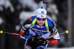 March 9, 2019 - –Stersund, Sweden - 190309 Tomas Krupcik of Czech Republic competes in the Men's 10 KM sprint during the IBU World Championships Biathlon on March 9, 2019 in Östersund..Photo: Petter Arvidson / BILDBYRÃ…N / kod PA / 92252 (Credit Image: © Petter Arvidson/Bildbyran via ZUMA Press)