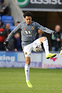 Wolverhampton Wanderers forward Helder Costa (10) during the The FA Cup fourth round match between Shrewsbury Town and Wolverhampton Wanderers at Greenhous Meadow, Shrewsbury, England on 26 January 2019.