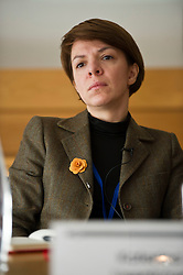 Pictured: Katerina Lisenkova (Head of economic modelling, Fraser of Allander Institute)<br /> <br /> Conference to examine impact of Brexit on Scottish businesses and public services. The event, organised by the Fraser of Allander Institute and Strathclyde Business School, heard from a numbers of speakers including Mark Taylor (Audit Scotland), John Edward (former head of Office in Scotland, the European Parliament, Professor Russel Griggs OBE, (Chair Scottish Government Independent Advisory Regulatory Review Grioup), Jenny Stewart (head of Infrastructure and Government KPMG), Lynda Towers (Director of public law Morton Fraser), Katerina Lisenkova (Head of economic modelling, Fraser of Allander Institute), Ian Wooton (Professor of Economics adn Vive Dean (research) Strathclyde Business School), Alastair Ross FCIPR (assistant Director, Head of Public Policy Association of British Insurers) and  Scottish Brexit Minister Mike Russell<br /> <br /> Ger Harley   EEm 2 March 2017