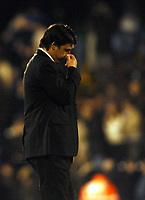 Fotball<br /> Premier Legaue England 2004<br /> 13.11.2004<br /> Foto: BPI/Digitalsport<br /> NORWAY ONLY<br /> <br /> Fulham v Chelsea<br /> <br /> Chris Coleman trudges off after a sound thrashing