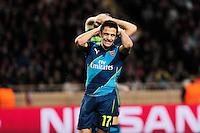 Deception Alexis SANCHEZ - 17.03.2015 - Monaco / Arsenal - 1/8Finale Retour Champions League<br />Photo : Jean Christophe Magnenet / Icon Sport