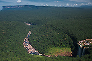 Kumerau Falls<br /> Kurupung River<br /> Pakaraima Mountains<br /> GUYANA<br /> South America