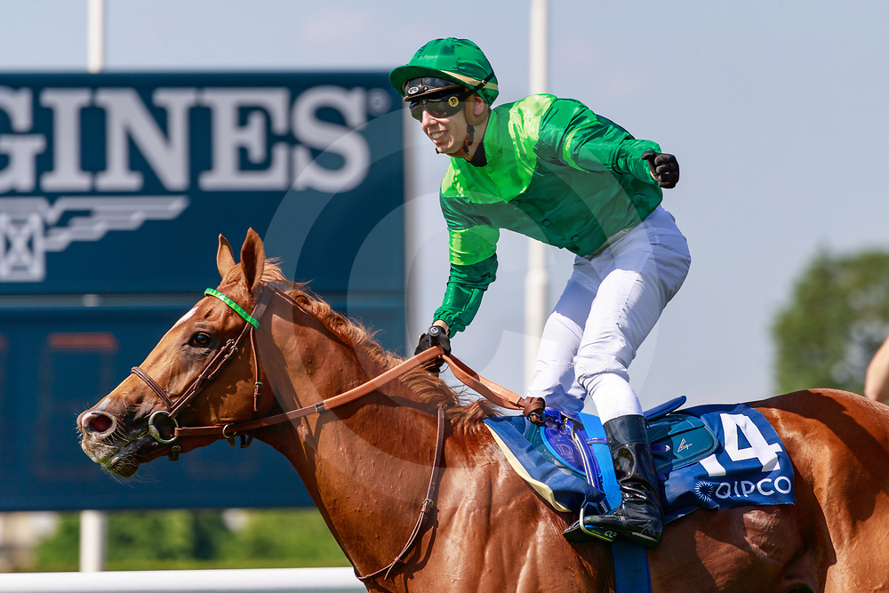 Sottsass (C. Demuro) wins QIPCO Prix du Jockey Club Gr.1 in Chantilly, France 02/06/2019, photo: Zuzanna Lupa