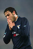 Roma 8 Marzo 2003<br />Roma - Lazio 1-1<br />Stefano Fiore (Lazio)