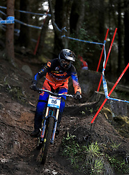 Dylan Levesque of Addiction Downhill Team during day one of the 2017 UCI Mountain Bike World Cup at Fort William. PRESS ASSOCIATION Photo. Picture date: Saturday June 3, 2017. Photo credit should read: Tim Goode/PA Wire. RESTRICTIONS: Editorial use only, no commercial use without prior permission