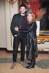 "actress Phyllis Logan and actor Michale Fox of ""Downton Abbey"" attending the photocall for the release of 6th season DVD box of Downton Abbey. - Grand Hotel et de Milan, Milan, Italy. 12 Dec 2016 Pictured: Phyllis Logan, Michael Fox. Photo credit: maximon / MEGA TheMegaAgency.com +1 888 505 6342"