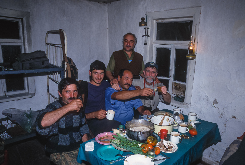 Research station, Caucasus Mountains, Lagodekhi National Park, The Country of Georgia, 1999