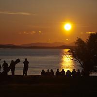 San Juan County Park on San Juan Island, Washington.  Photo by William Byrne Drumm.