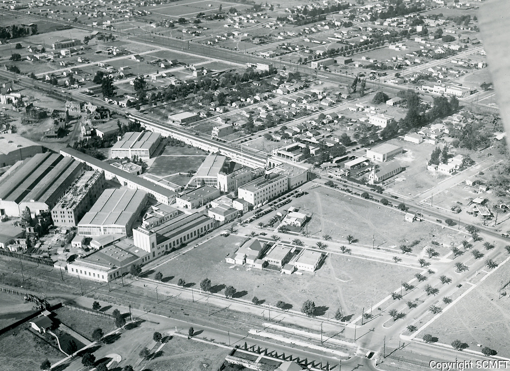 1924 Aerial of Goldwyn Studios in Culver City