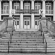 Lee Hall on the University of Mary Washington campus in Fredericksburg, VA.