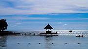 FIshing on the jetty - Mauritius