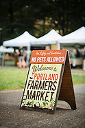 Portland, Oregon Farmers Market - Shemanski Park Photos