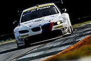Dirk Müller, Uwe Alzen and Jonathan Summerton, BMW Team RLL (GT) BMW E92 M3, Petit Le Mans. Oct 18-20, 2012. © Jamey Price