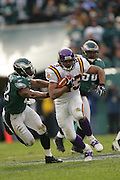16 Jan 2005:Ralph Brown of the Minnesota Vikings during the Philadelphia Eagles 27-14 victory over the Minnesota Vikings at Lincoln Financial Field in Philadelphia, PA. <br /> <br /> Mandatory Credit:Todd Bauders/ContrastPhotography.com