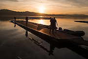 Varese. Lombardia. ITALY. General View. Varese Rowing Club. [Canottieri Varese] Province of Varese.  Sunset <br /> <br /> Monday  02/01/2017<br /> <br /> [Mandatory Credit; Peter Spurrier/Intersport-images]<br /> <br /> <br /> LEICA CAMERA AG - LEICA Q (Typ 116) - 1/2000 - f4 , Atmospheric, mist, fog, Sunrise, Sunset, Blue Hour,