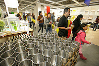 In the marketplace at the grand opening of the new Ikea in Burbank. The new Ikea store comes in at 456,000 sf, compared to the old one at 242,000 sf. And 1,700 parking places.  Feb. 8, 2017  Photo by David Sprague