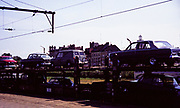 MotorRail train transporting British cars across Europe in 1967