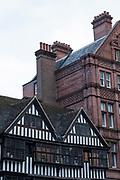 Part-Tudor building, the Staple Inn on the 27th September 2019 in London in the United Kingdom.