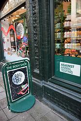 Black Friday, Norwich UK 29/11/19. The Body Shop