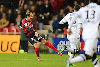Goal Thibault GIRESSE - 03.12.2014 - Guingamp / Caen - 16eme journee de Ligue 1 <br />Photo : Vincent Michel / Icon Sport