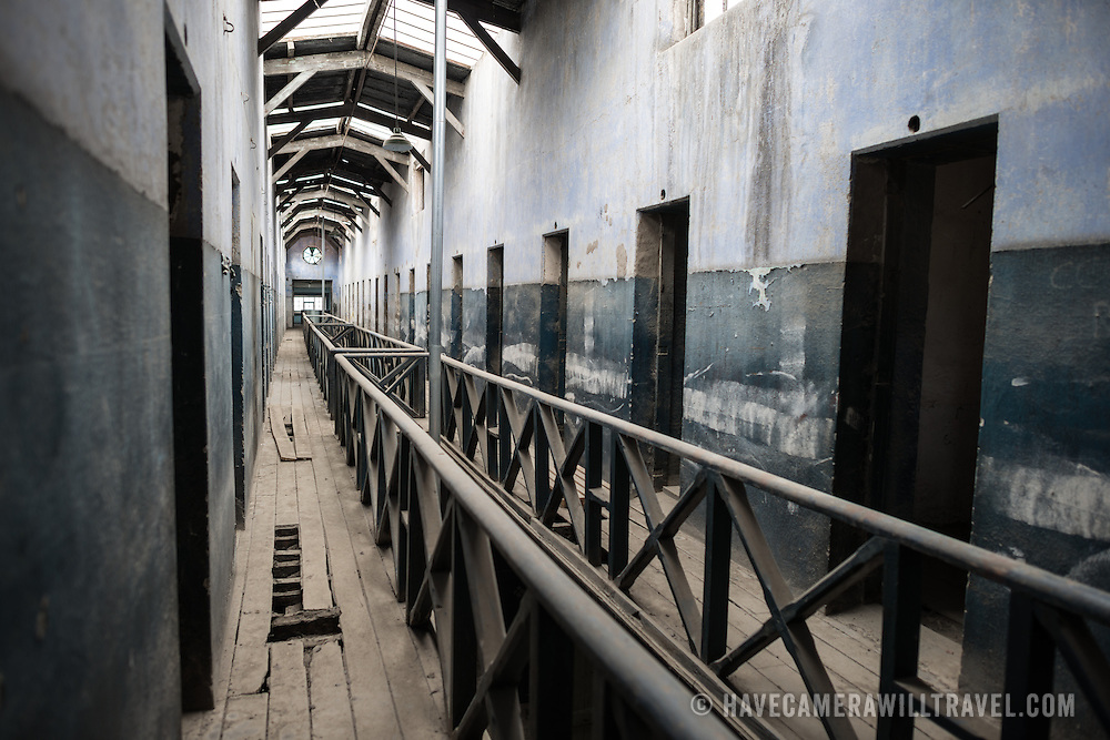 A section of the original prison is kept in an unrestored state to demonstrate the original conditions of the prison at the the Police and Penitentiary Museum that forms one part of the Maritime Museum of Ushuaia. The museum is housed in the city's old prison.