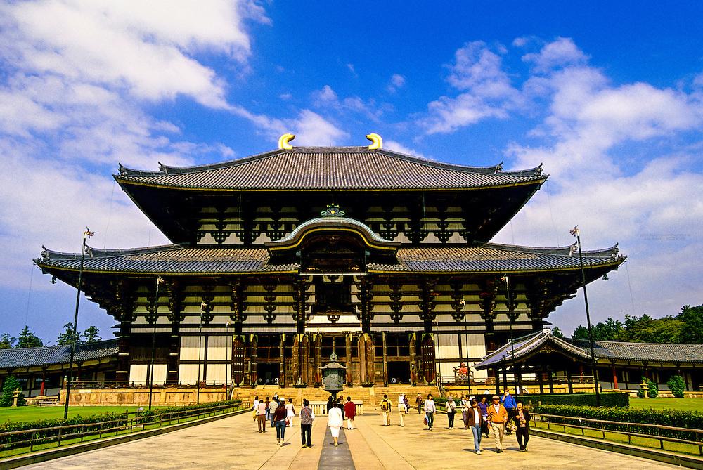 Daibutsu-den (Hall of the Great Buddha), Todai-ji Temple, Nara, Japan