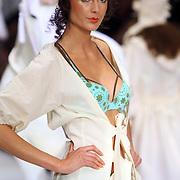 NLD/Amsterdam/20080123 - Modeshow Marlies Dekkers tijdens de Amsterdam Fashionweek 2008, modellen in lingerie op de catwalk