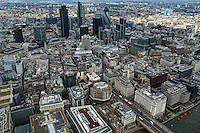 Aerial View, City of London