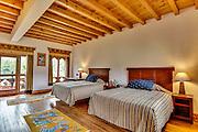 Bhutan, Paro, Zhiwa Ling Hotel, Room. Twin Bed