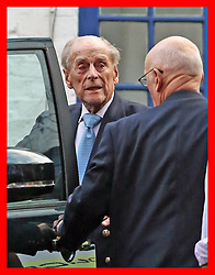 PABest The Duke of Edinburgh leaves King Edward VII Hospital in London, after being admitted last Friday for observation and treatment in relation to a pre-existing condition.