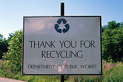 Recycling Sign